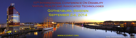 save date: ICDVRAT2014 - 10th International Conference on Disability, Virtual Reality and Associated Technologies | Virtual Reality Therapy | Scoop.it