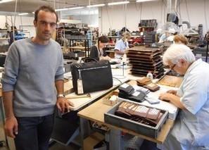 La maroquinerie Jean-Louis Fourès reprise par un jeune couple de créateurs   Métiers, emplois et formations dans la filière cuir   Scoop.it