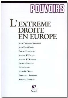 Pouvoirs n°87 - L'extrême droite en Europe | Union Européenne, une construction dans la tourmente | Scoop.it