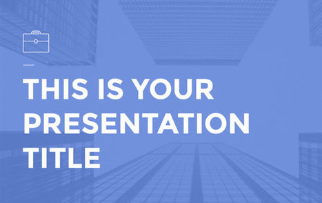 Free Presentation Templates | Technology in Education | Scoop.it