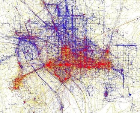 Tourists Vs Locals: Cities Based On Where People Take Photos | Geography Education | Scoop.it