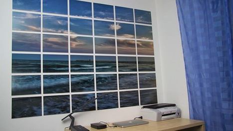 Display a Giant Photo on Your Wall Using Wooden Boards | Art 2.0 | Scoop.it