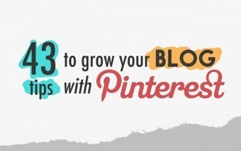 40+ Smart Strategies To Grow Your Blog With Pinterest | Blogging Tips & Resources | Scoop.it