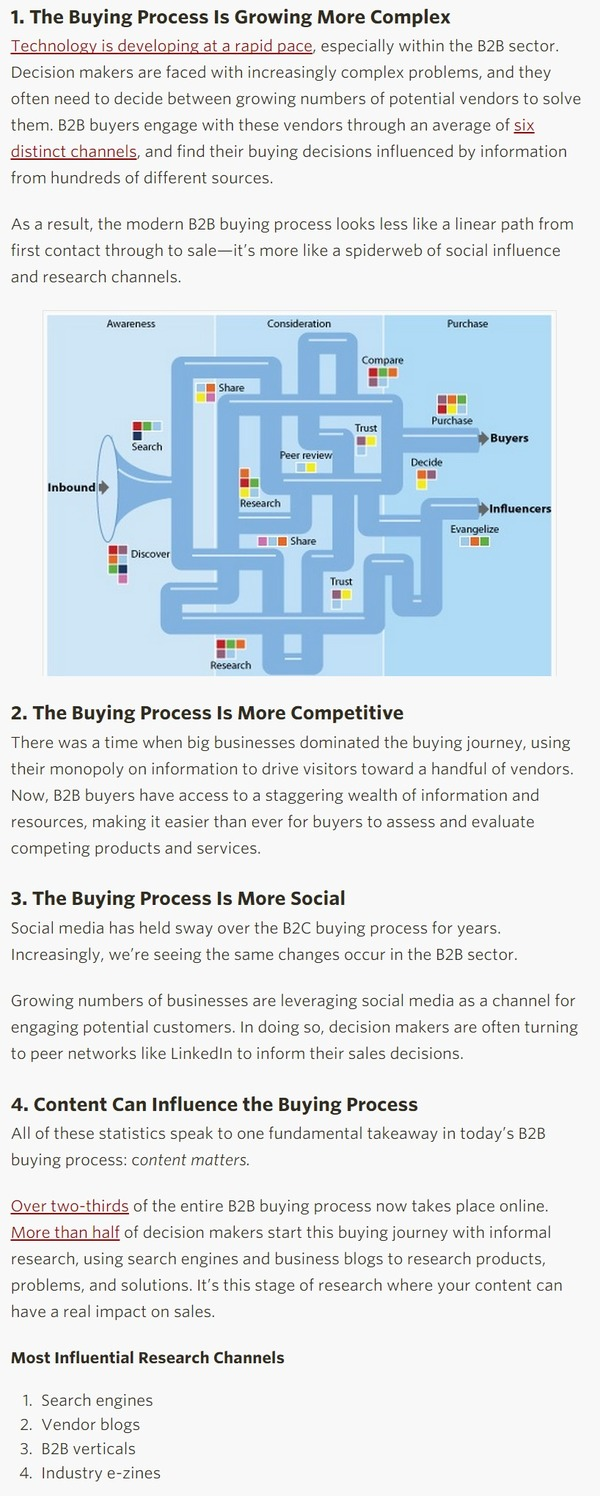 What You Need to Know about the Changing B2B Buying Process - Kapost Content Marketing Blog | The Marketing Technology Alert | Scoop.it