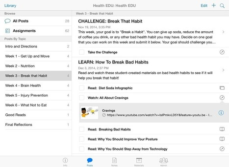 How to Use iTunes U in the Classroom - Daily Genius | Have iPad will Teach | Scoop.it
