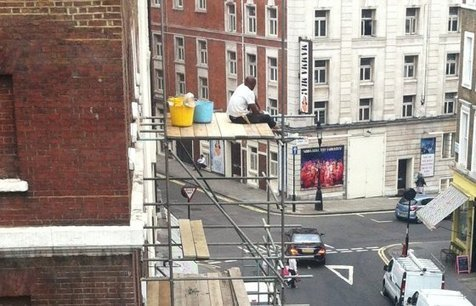 Carefree scaffolders prosecuted by HSE