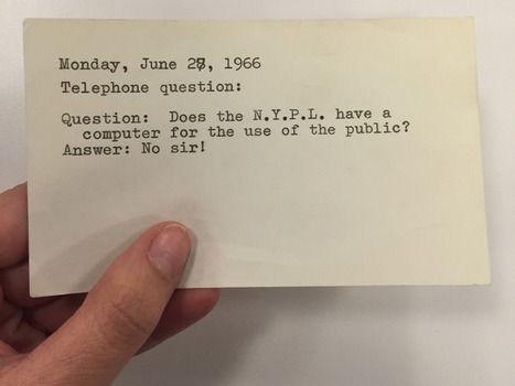 Before The Internet, Librarians Would 'Answer Everything' -- And Still Do | North Country Public Radio | Radio resources | Scoop.it