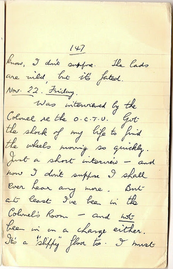 London War Diary: November 22nd 1940   London War Diary. Original written pages. 1940   Scoop.it