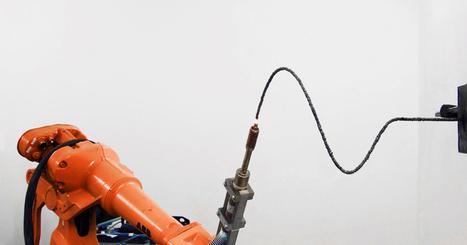 3D printing welder by joris laarman creates gravity-defying sculptures - designboom   architecture & design magazine   ressources-tutoriels-numériques   Scoop.it