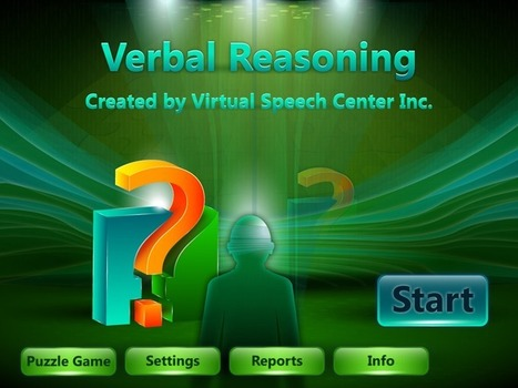 Verbal Reasoning App | Speech and Language Therapy Apps | Scoop.it