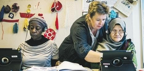 Analfabeter lär sig lättare med appar | Lärarnas Nyheter | Folkbildning på nätet | Scoop.it