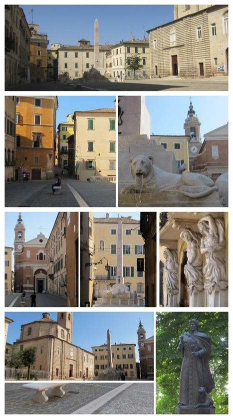 The public square in Jesi where a king was born | Le Marche another Italy | Scoop.it