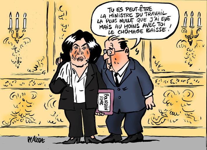 El Khomri piegée par Bourdin garde son CDD | Baie d'humour | Scoop.it