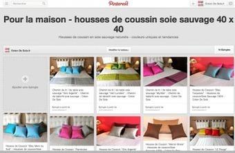 Coton de Soie est maintenant sur Pinterest! - Actualités - Coton De Soie | behaviors | Scoop.it