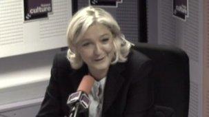 Marine Le Pen : les matins de France culture - AgoravoxTv   French   Scoop.it