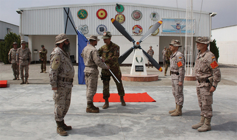 .:Ejército de tierra - La seguridad de la base de Herat cambia de manos:. | ESPAÑA: seguridad, defensa y amenazas | Scoop.it