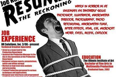 12 Cool Resumes That Will Blow Your Mind | Strange days indeed... | Scoop.it