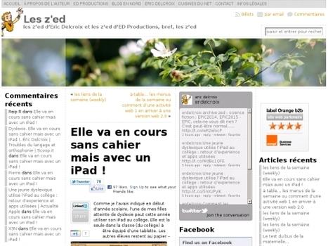 Elle va en cours sans cahier mais avec un iPad ! | Websourcing.fr | Autisme actu | Scoop.it