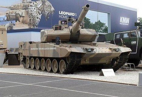 En silence, les armes allemandes à la conquête du Proche-Orient - Orient XXI | Eurosatory 2014 | Scoop.it