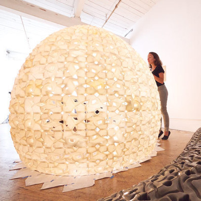 Pavilion made of 3D-printed salt by Emerging Objects | design | Dezeen | 3d printers and 3d scanners | Scoop.it
