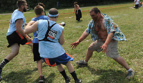 Participants in run for their lives during zombie-themed 5K - The Daily News Online | Basket B | Scoop.it