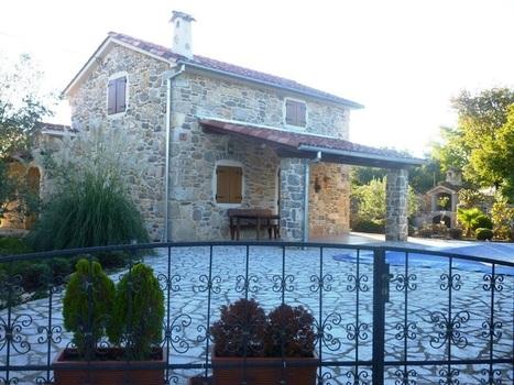 Kamnite hiše Krk | Nova kamnita hiša z vrtom in bazenom | Nepremičnine Hrvaška | Nepremičnine Hrvaška | Scoop.it