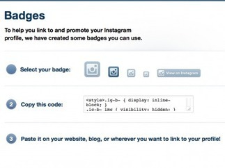 """With Site Badges Debut, """"Mobile First"""" Instagram Is Catching Up to the Web   The Perfect Storm Team   Scoop.it"""