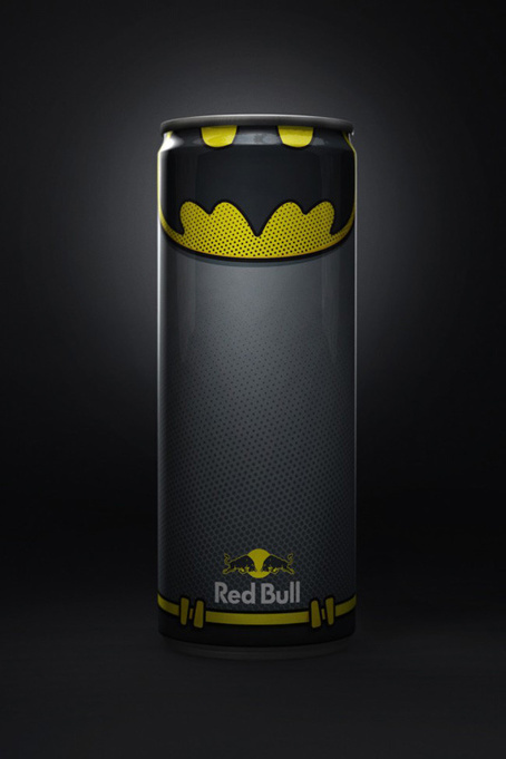 Designer reveals new superhero packaging for RedBull | Packaging | Creative Bloq | The Twinkie Awards | Scoop.it