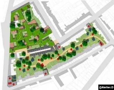 La réponse d'Atelier D à la demande de villas urbaines durables - Le Courrier de l'Architecte | toit toi mon toit toi toi ma toiture | Scoop.it