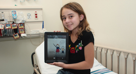 An iPad Today Makes the Pain Go Away? Hospital Gives iPads to Kids in the ER | PadGadget | iPads, MakerEd and More  in Education | Scoop.it