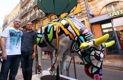 50 entreprises parrainent la Cow Parade de Toulouse | Toulouse La Ville Rose | Scoop.it