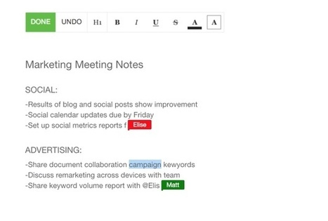 SamePage. Une seule et même page pour faciliter le travail collaboratif - Les Outils Collaboratifs | Les outils du Web 2.0 | Scoop.it