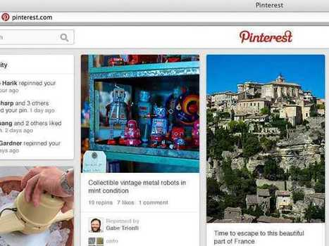 Pinterest Is Rolling Out A New Look To Get You To Spend More Time On The Site | Pinterest | Scoop.it
