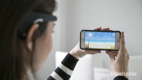 Brain-Sensor Wearable Headbands De-Stress You in Minutes   Marketing2015   Scoop.it