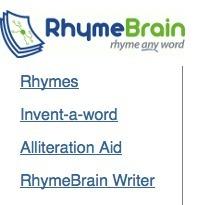 RhymeBrain Rhyming Dictionary. | 6-Traits Resources | Scoop.it
