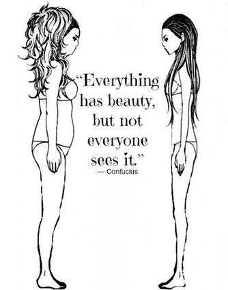 BEAUTY DOESN'T EQUAL VALUES   Best of You   Scoop.it