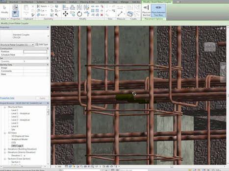 Demo of Revit 2017 with new functionalities for structure | BIM Forum | Scoop.it