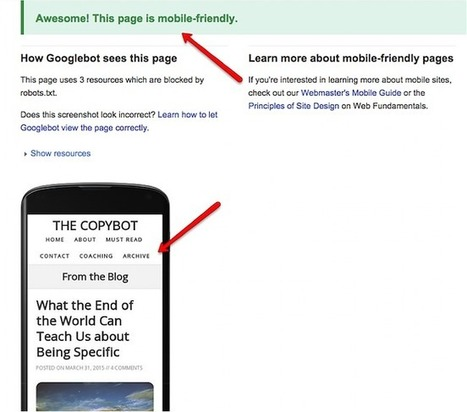 Will Your Website Survive the Google Mobile Penalty? | digital marketing strategy | Scoop.it