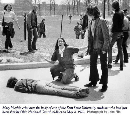 Eyewitness Account of Kent State Shootings — History.com Audio | A Cultural History of Advertising | Scoop.it