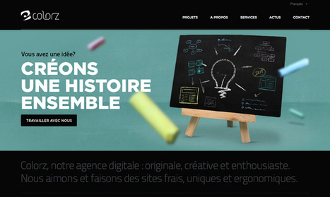 20 Stunning Websites Using Bright Colors | iBoo Veille Technologique | Scoop.it