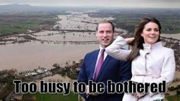 Why Don't The Windsors Visit the Flood Hit Areas In Britain? #STi | News From Stirring Trouble Internationally | Scoop.it
