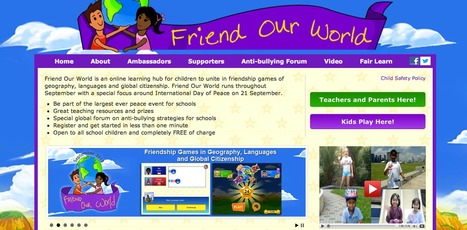 Friend Our World - September 2013 | Web tools, services, applications | Scoop.it