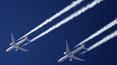 Aviation industry agrees deal to cut CO2 emissions - BBC News | Aviation & Airliners | Scoop.it