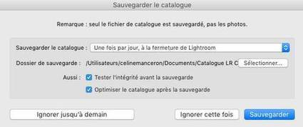 Logiciel : pourquoi et comment sauvegarder son catalogue Lightroom - Photo Geek | Photo 2.0 | Scoop.it