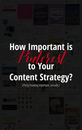 How Important is Pinterest to Your Content Marketing Strategy? | Learning & Performance | Scoop.it