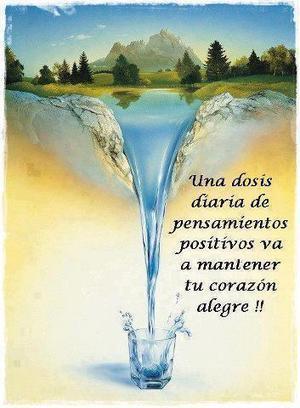 Una dosis diaria de pensamientos positivos va a mantener tu corazón alegre!!... | Pediatria | Scoop.it