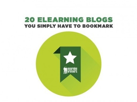 20 eLearning Blogs You Simply Have to Bookmark - eLearning Brothers | MOOCs | Scoop.it