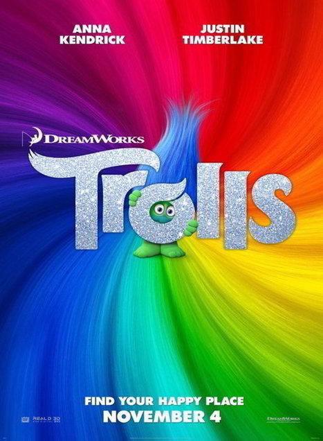 Les trolls: ces créatures à crête fluo auront la voix Louane et M.Pokora   Nalaweb   Scoop.it