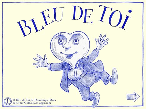 MELI-MELO de livres...: Bleu de toi | Must Read articles: Apps and eBooks for kids | Scoop.it