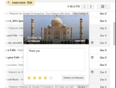 Gmail añade botones de acción rápida para Google Helpouts | Marketing Digital | Scoop.it